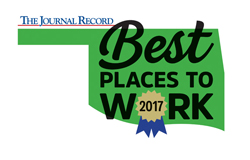 Best Places to Work 2017 Logo Journal Records