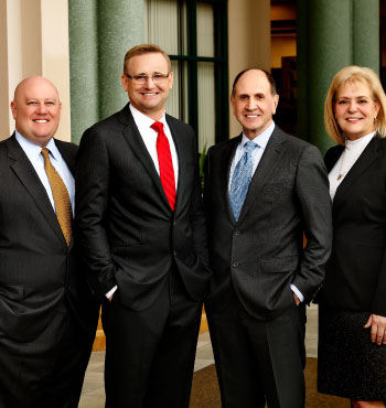 Picture of Nick Burlison, Craig Dunn, Mike McGoldrick and Kim Cash